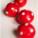 Truffes coco « comme des boules de noël »