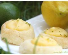 Sablés «cristal» au lemon curd