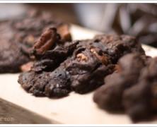 Bittersweet Chocolate Cookies